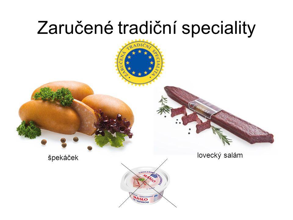 Zaručené tradiční speciality