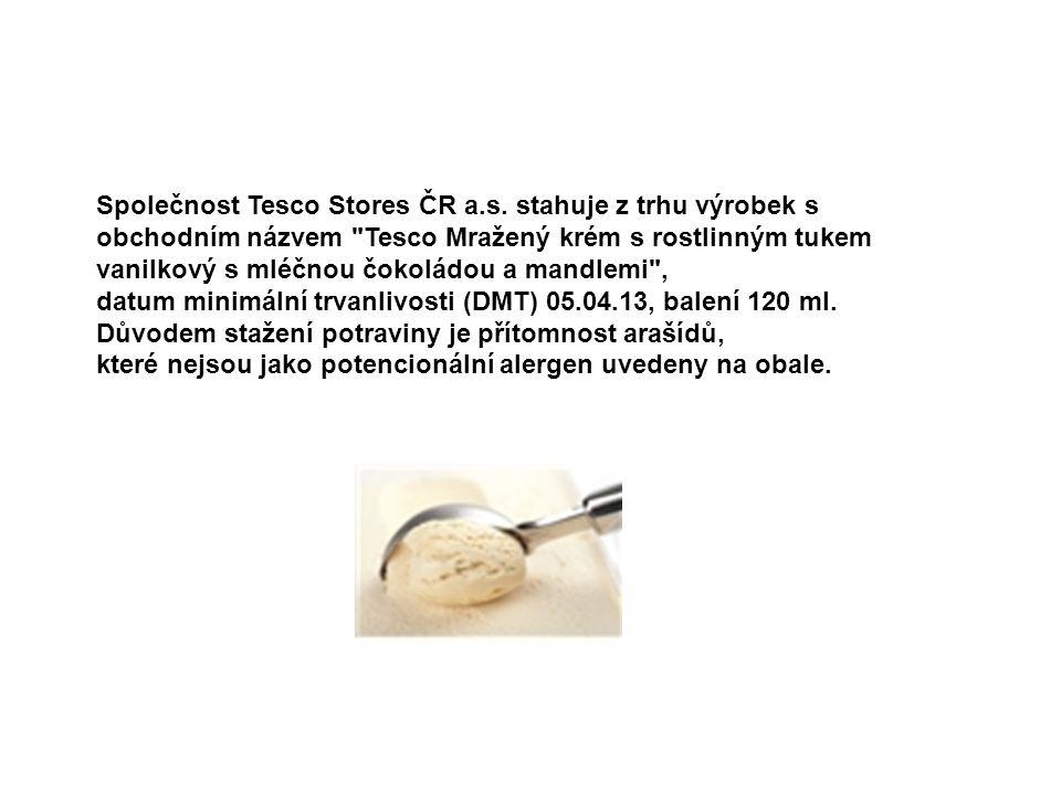 Společnost Tesco Stores ČR a. s