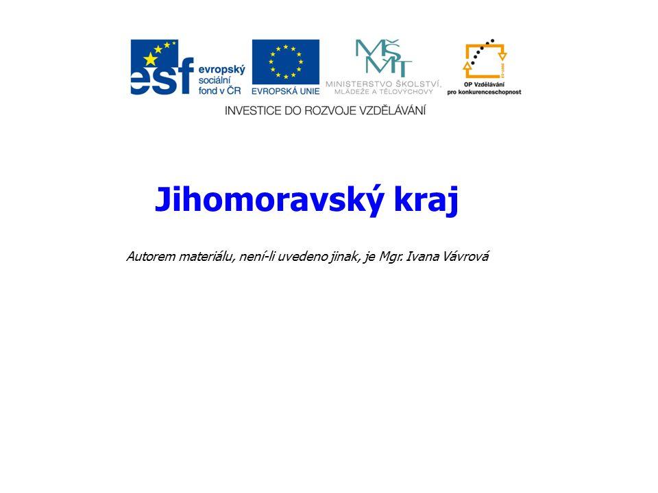 Autorem materiálu, není-li uvedeno jinak, je Mgr. Ivana Vávrová