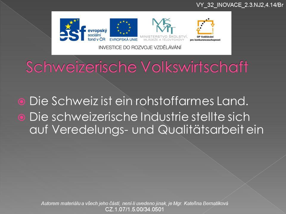 Schweizerische Volkswirtschaft