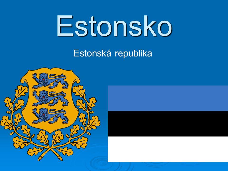 Estonsko Estonská republika