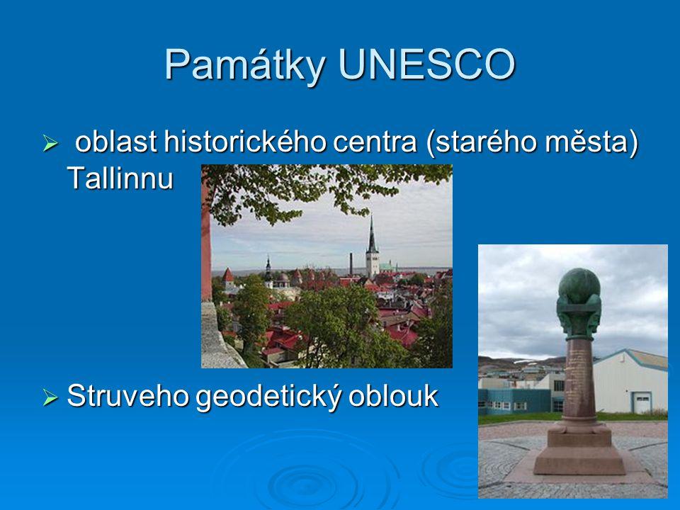 Památky UNESCO oblast historického centra (starého města) Tallinnu