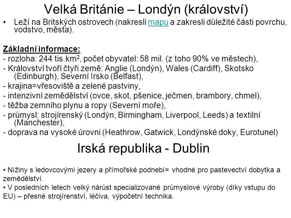Velká Británie – Londýn (království)