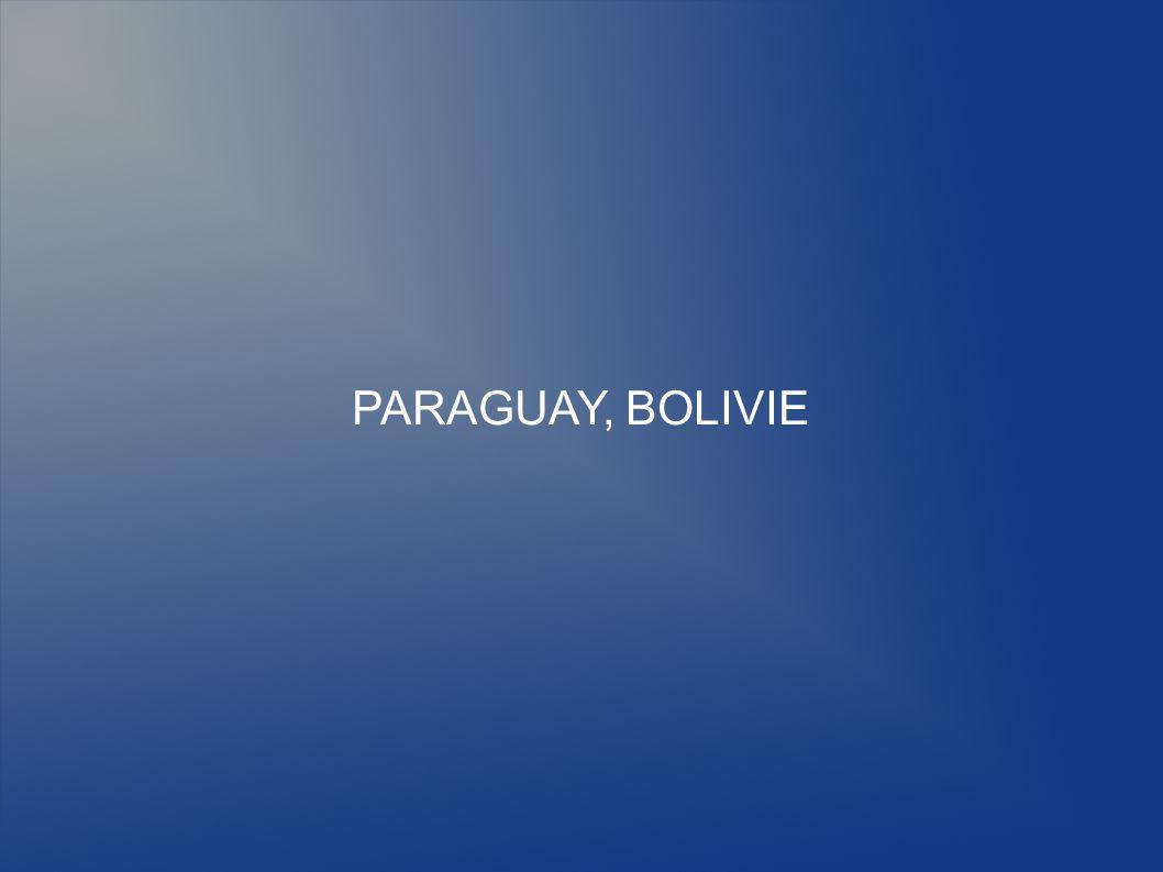 PARAGUAY, BOLIVIE