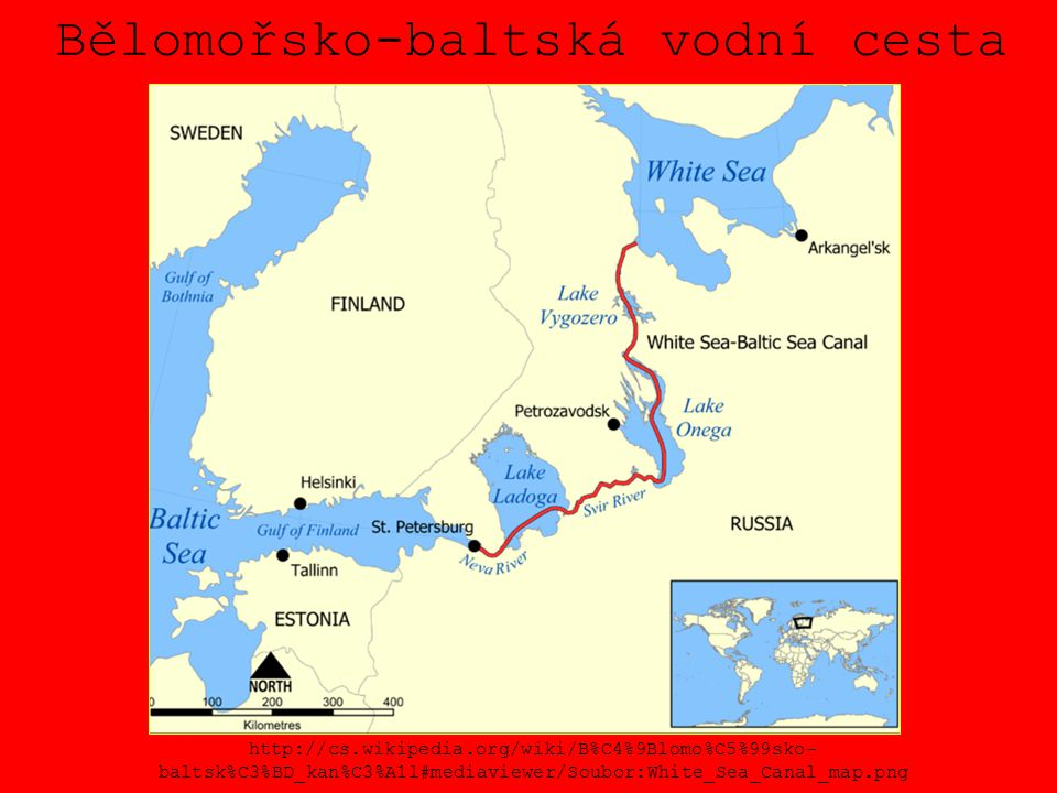 Bělomořsko-baltská vodní cesta