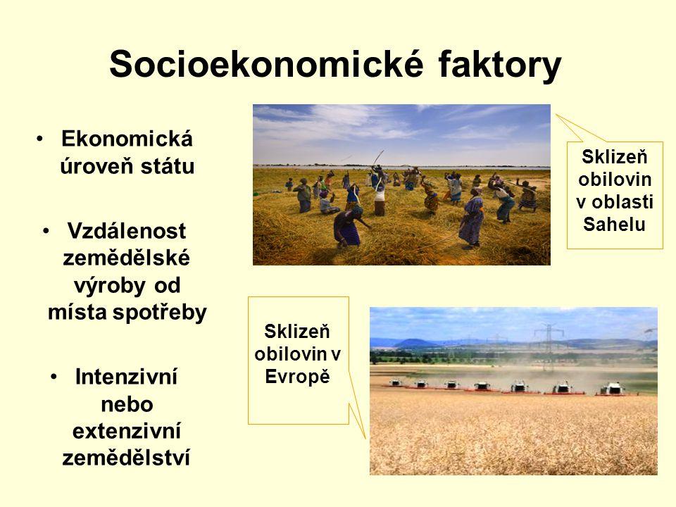 Socioekonomické faktory
