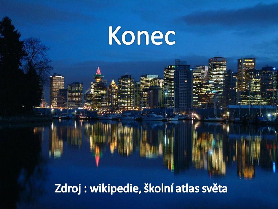 Zdroj : wikipedie, školní atlas světa
