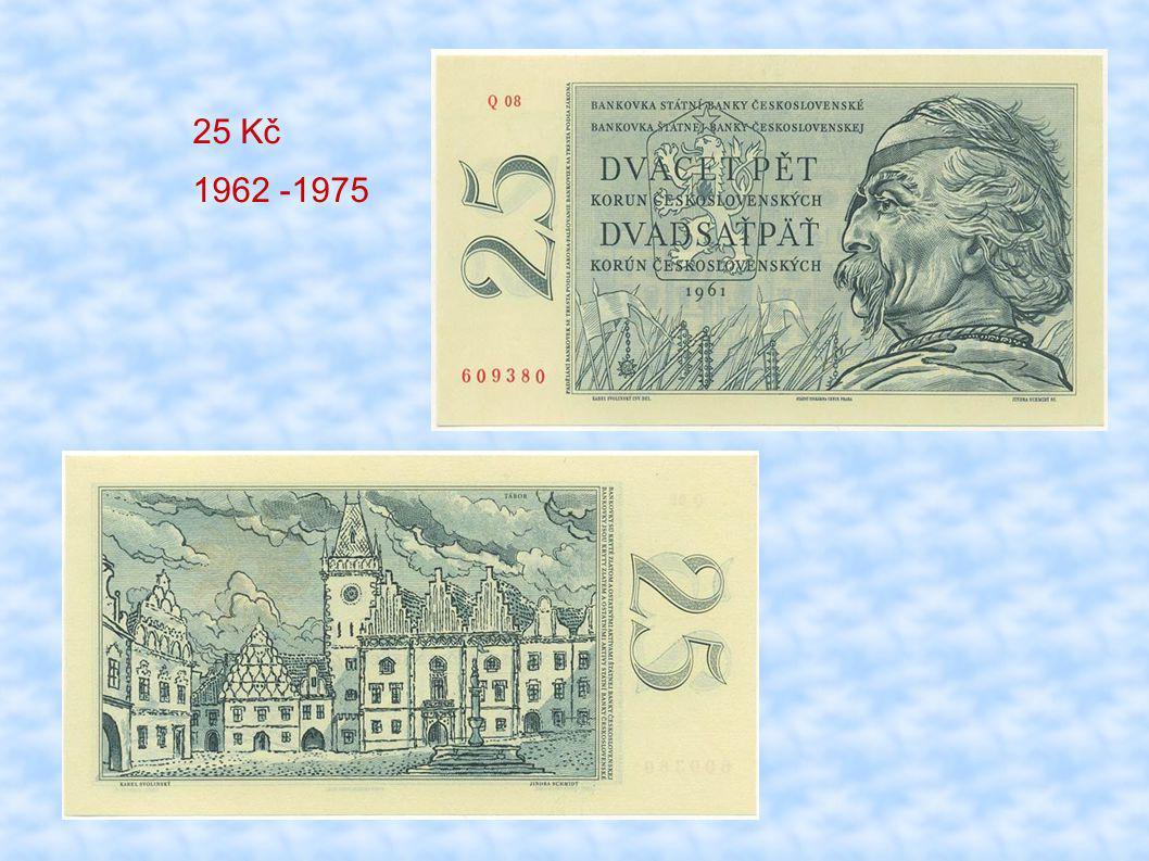 25 Kč 1962 -1975