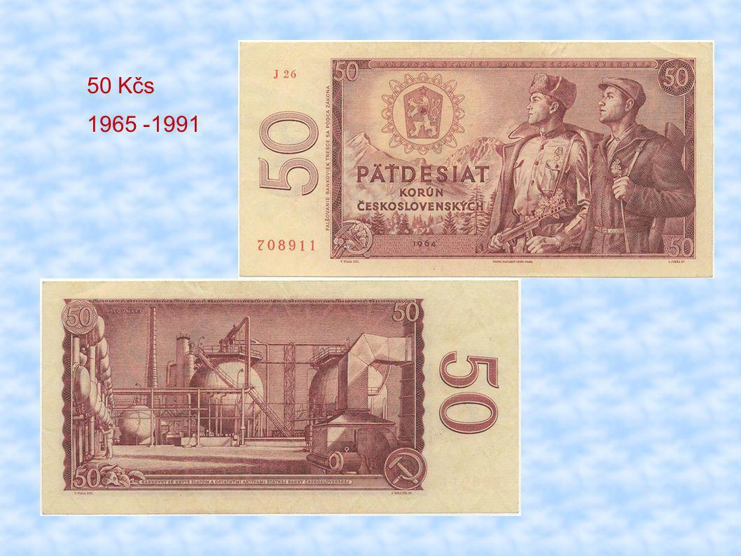 50 Kčs 1965 -1991