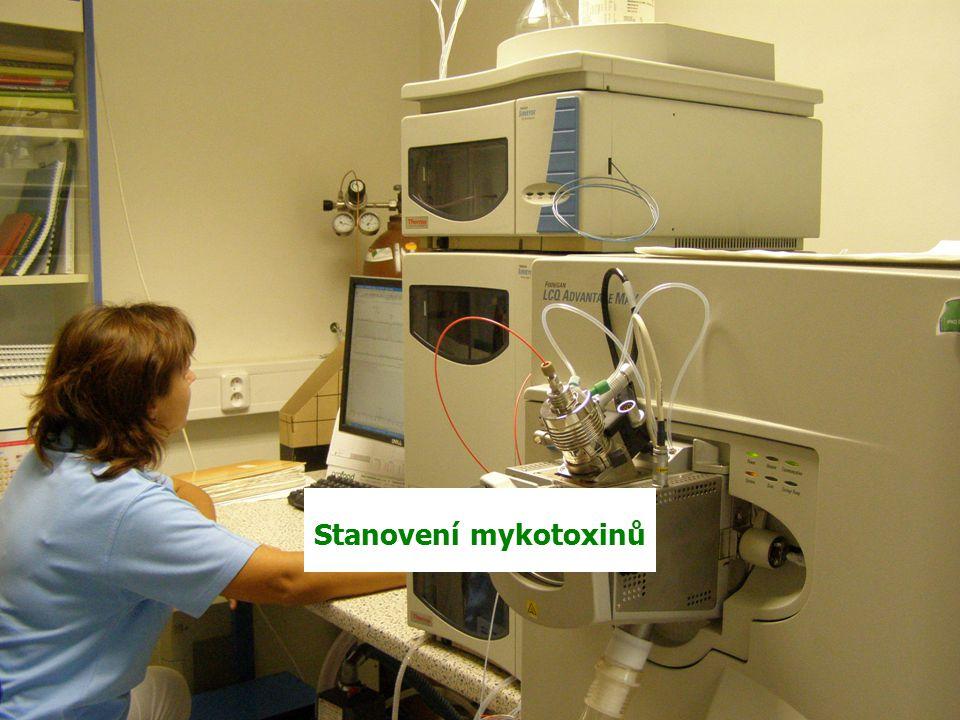 Speciální analýzy Laboratoř plynové chromatografie