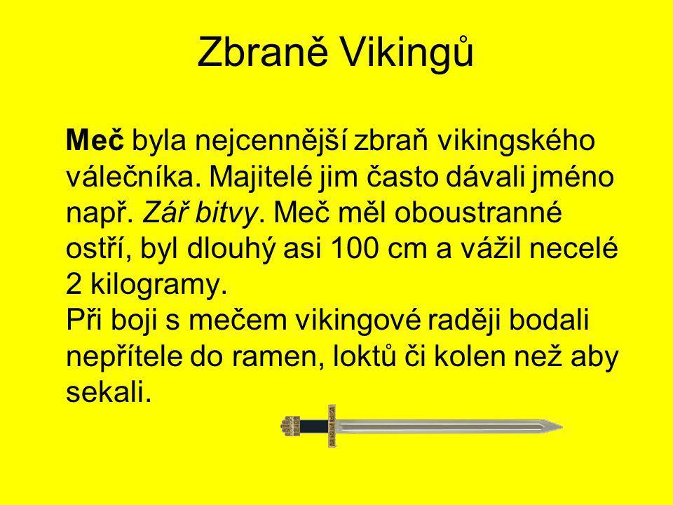 Zbraně Vikingů