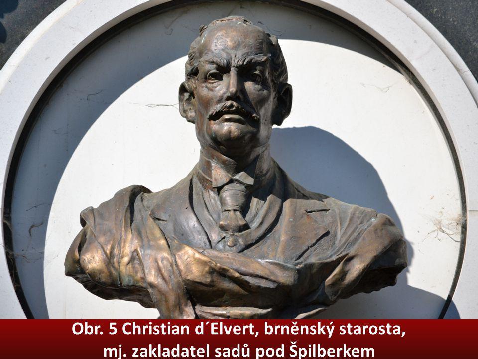 Obr. 5 Christian d´Elvert, brněnský starosta, mj