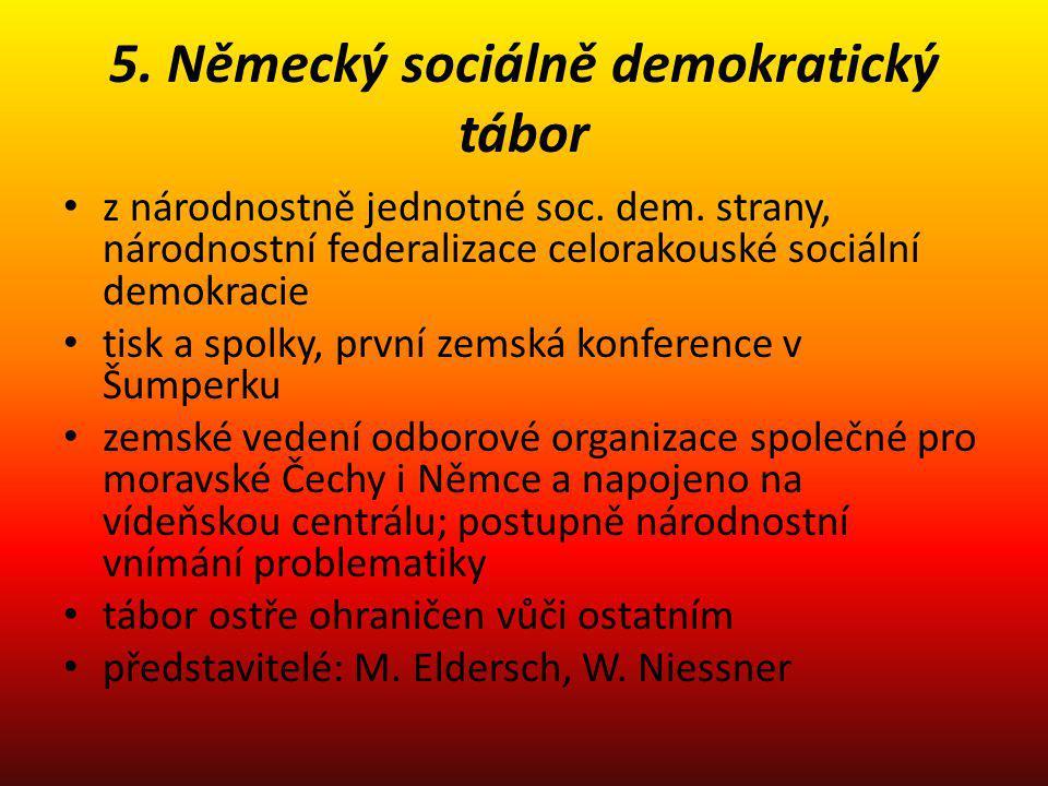 5. Německý sociálně demokratický tábor
