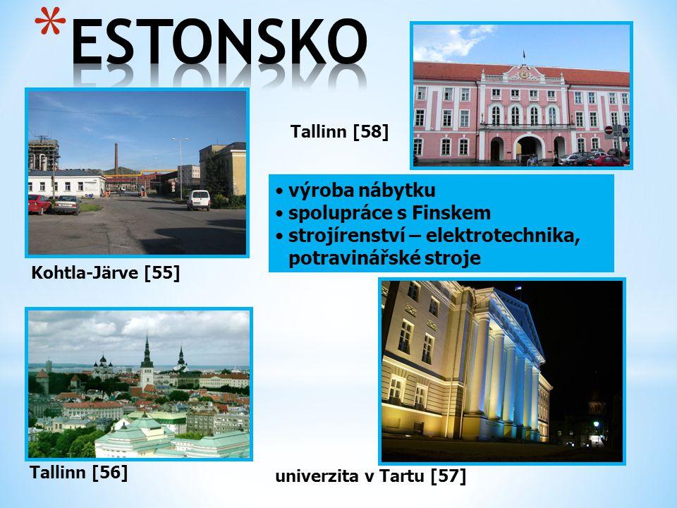 ESTONSKO výroba nábytku spolupráce s Finskem