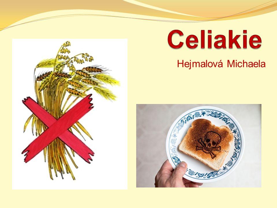 Celiakie Hejmalová Michaela