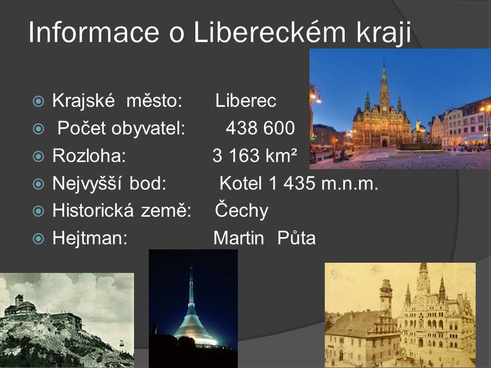 Informace o Libereckém kraji