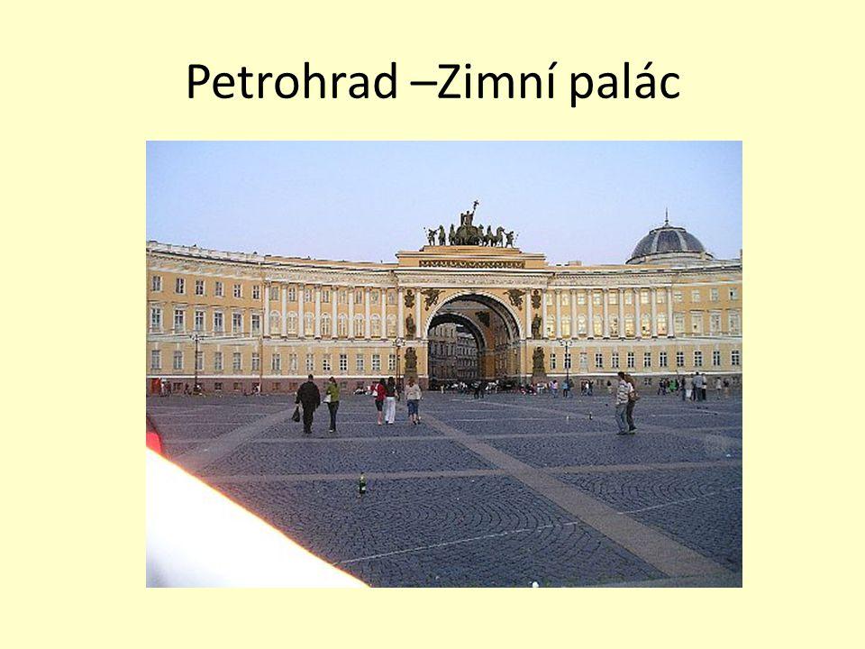 Petrohrad –Zimní palác