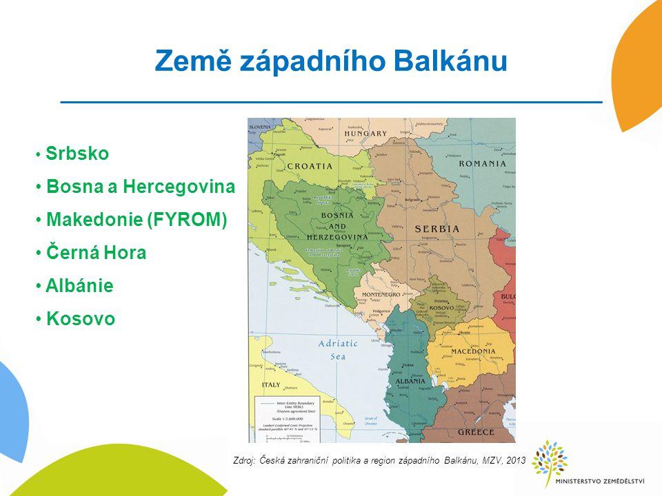Země západního Balkánu