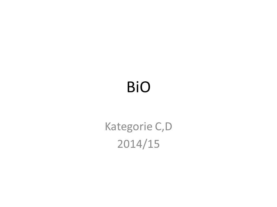 BiO Kategorie C,D 2014/15