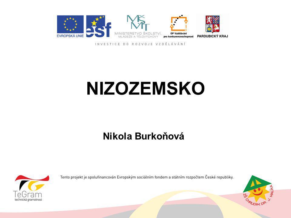 NIZOZEMSKO Nikola Burkoňová
