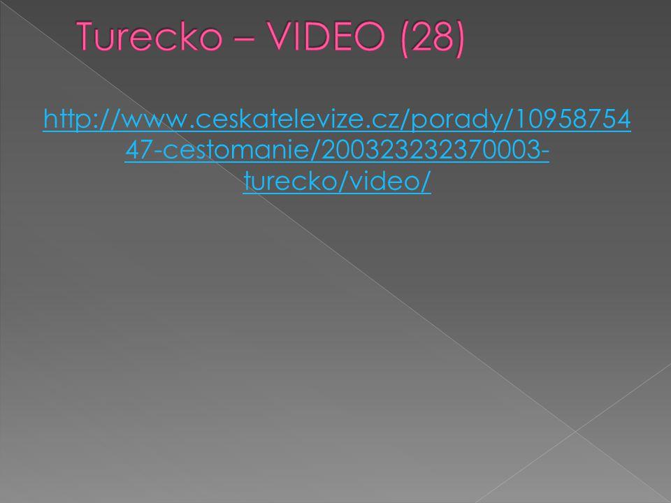 Turecko – VIDEO (28) http://www.ceskatelevize.cz/porady/1095875447-cestomanie/200323232370003-turecko/video/