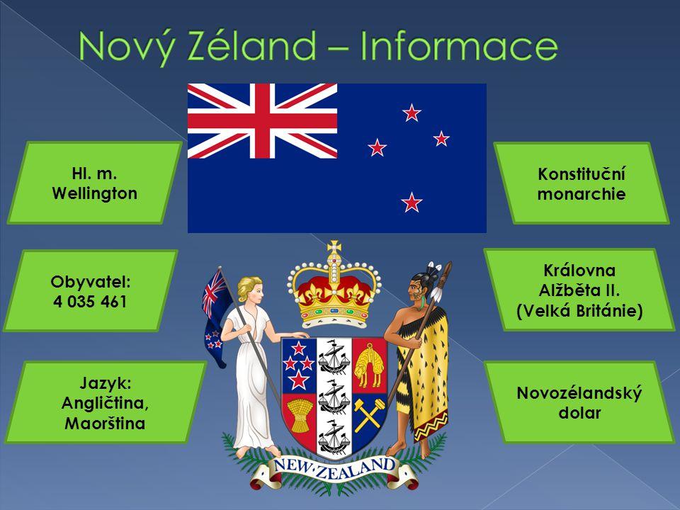 Nový Zéland – Informace