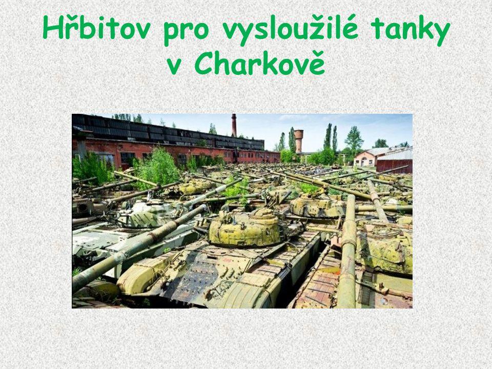 Hřbitov pro vysloužilé tanky v Charkově