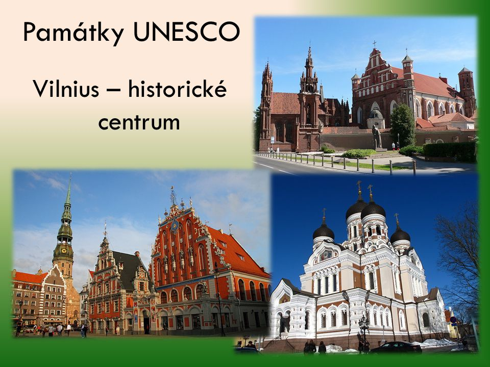 Vilnius – historické centrum