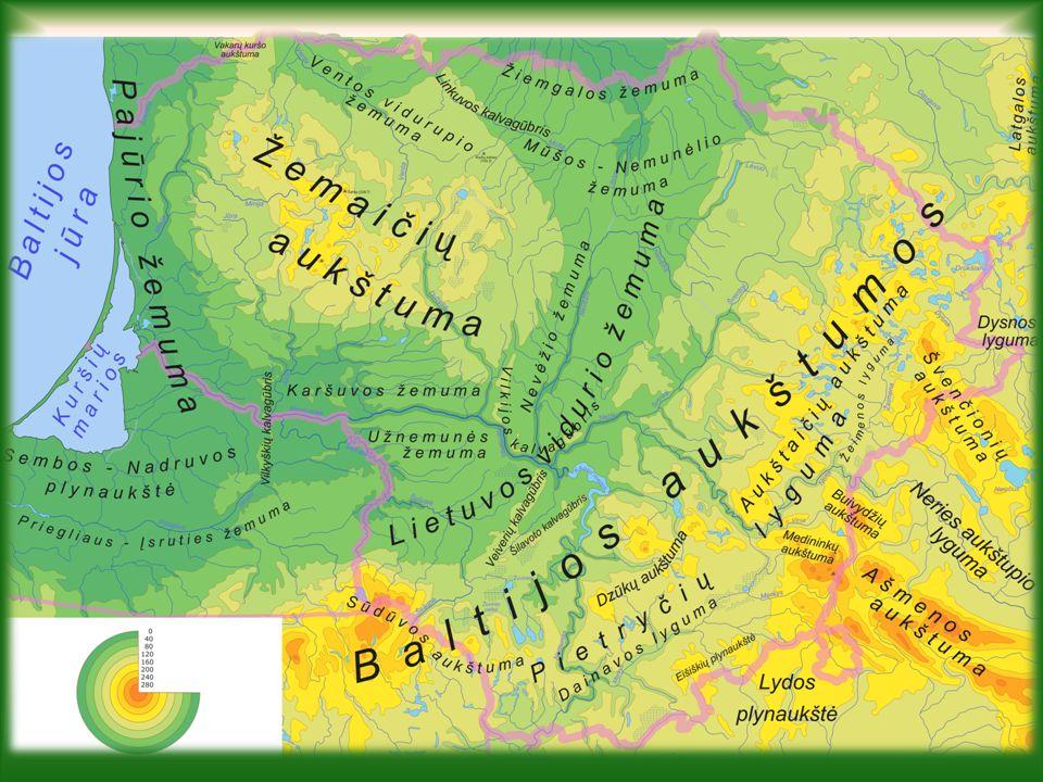 Geografie Litvy Mírný pás na přechodu oceánského a kontinentálního klimatu.