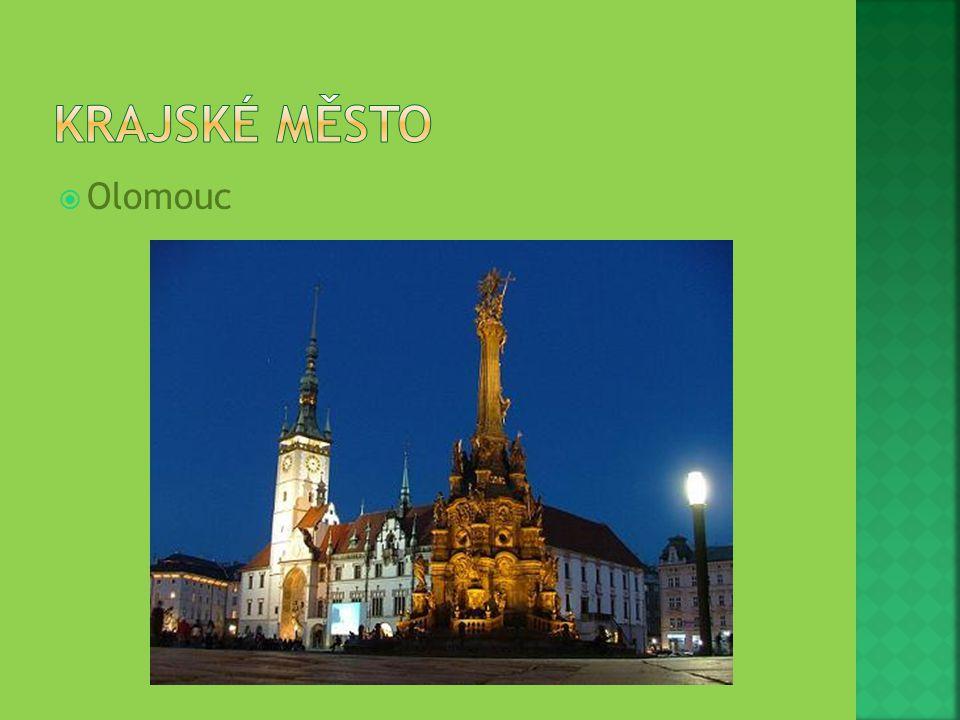 Krajské město Olomouc