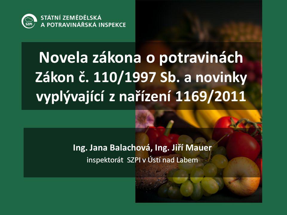 Ing. Jana Balachová, Ing. Jiří Mauer inspektorát SZPI v Ústí nad Labem