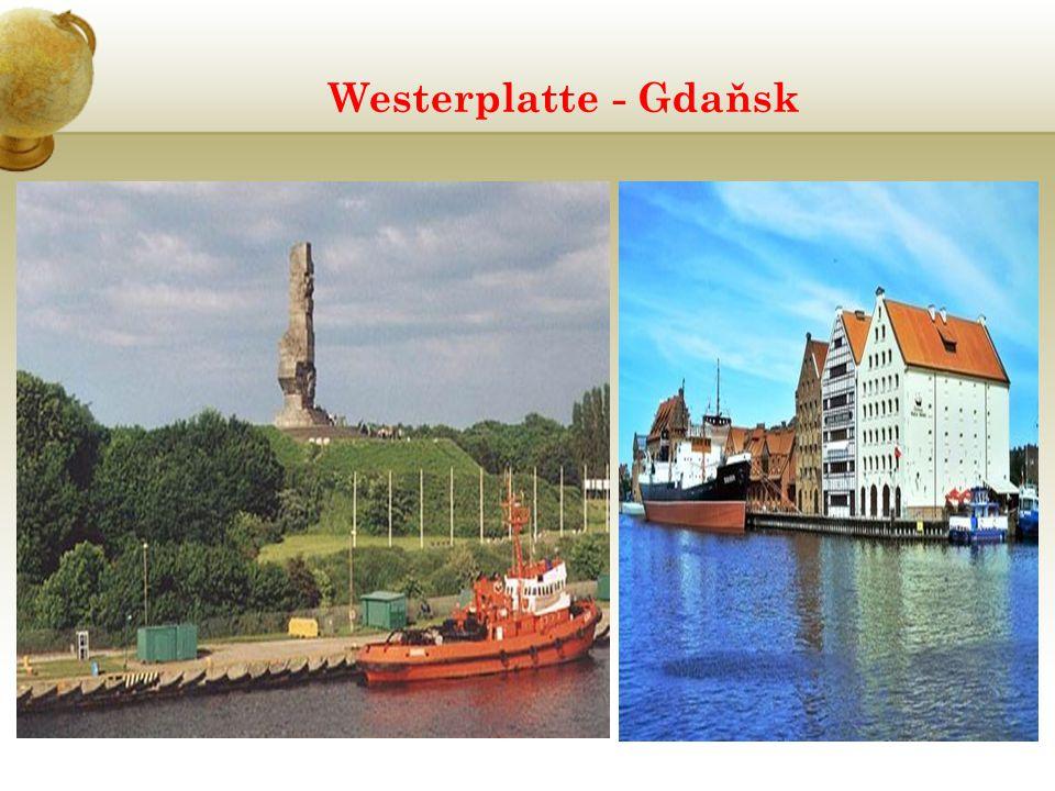 Westerplatte - Gdaňsk
