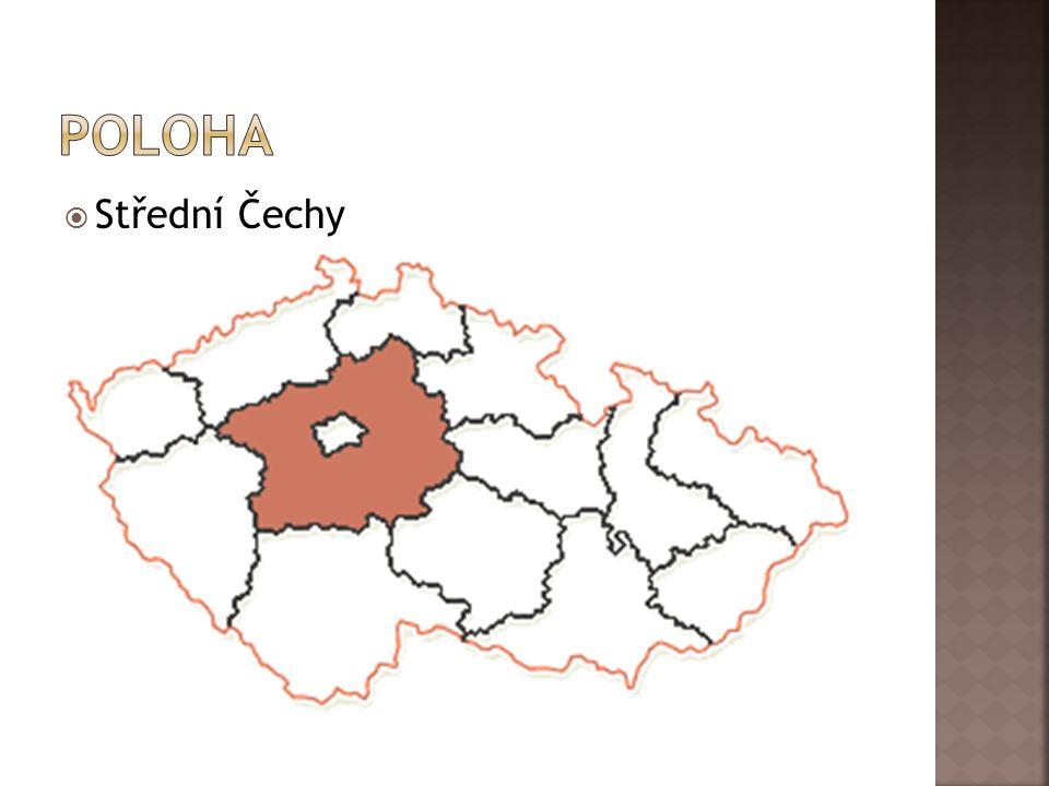 Poloha Střední Čechy