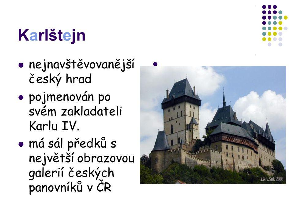 Karlštejn nejnavštěvovanější český hrad