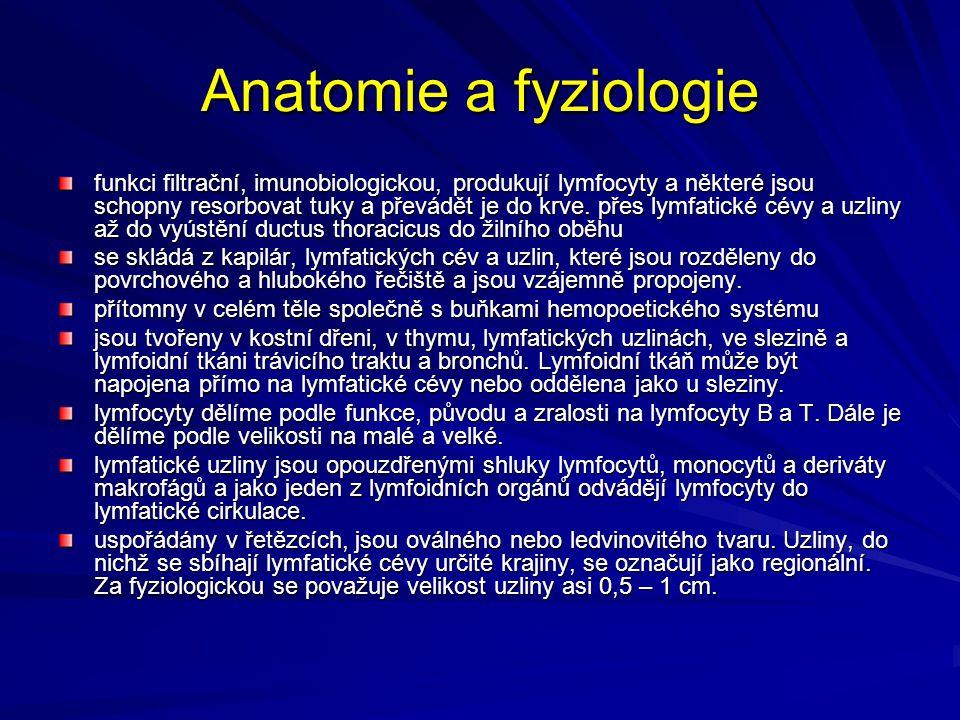 Anatomie a fyziologie