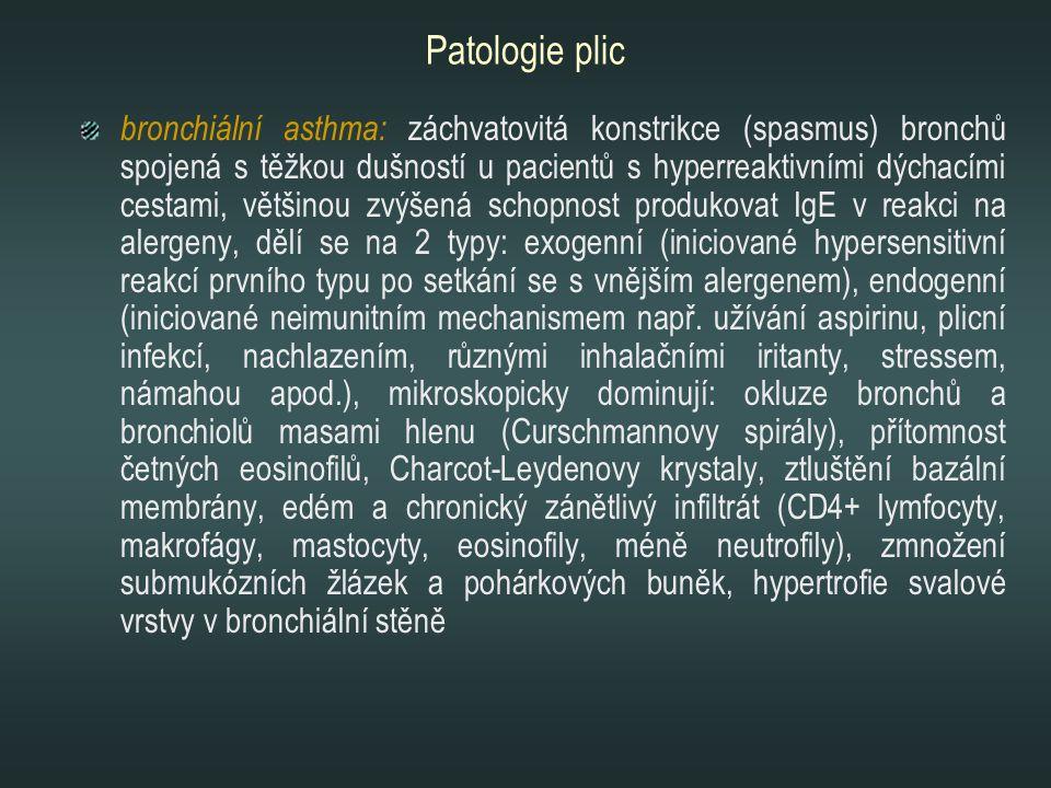 Patologie plic