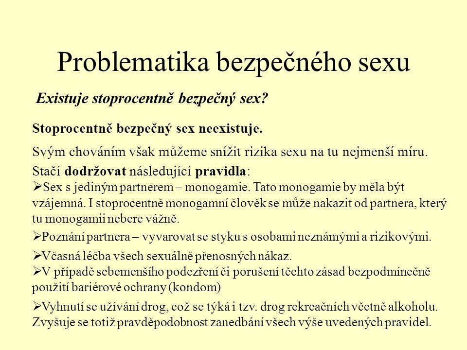 Problematika bezpečného sexu