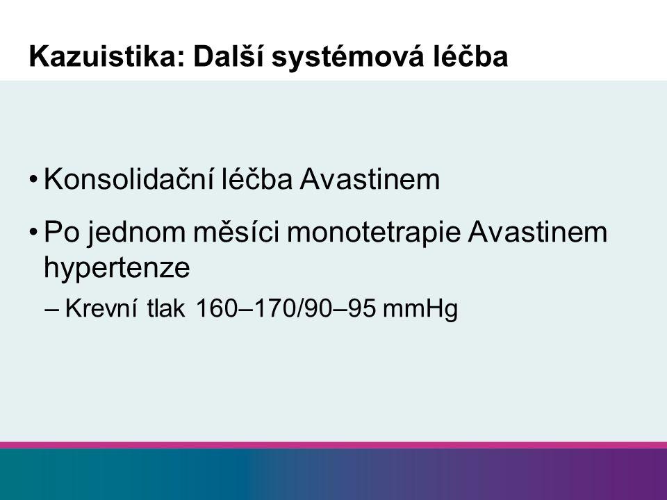 Kazuistika: Další systémová léčba