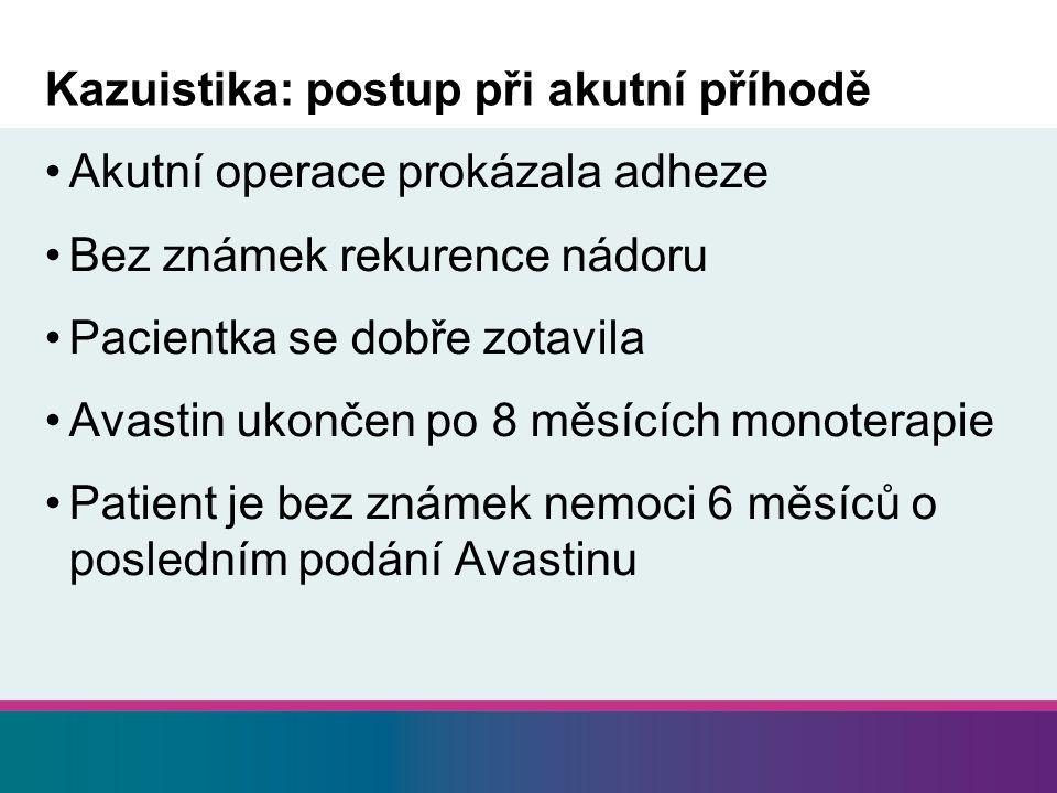 Kazuistika: postup při akutní příhodě