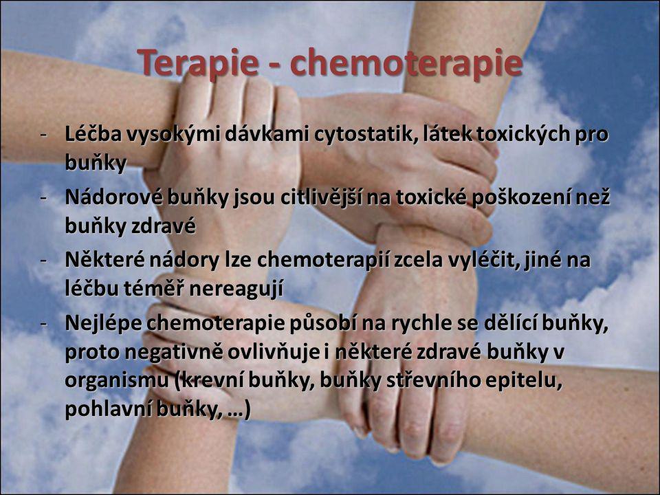 Terapie - chemoterapie