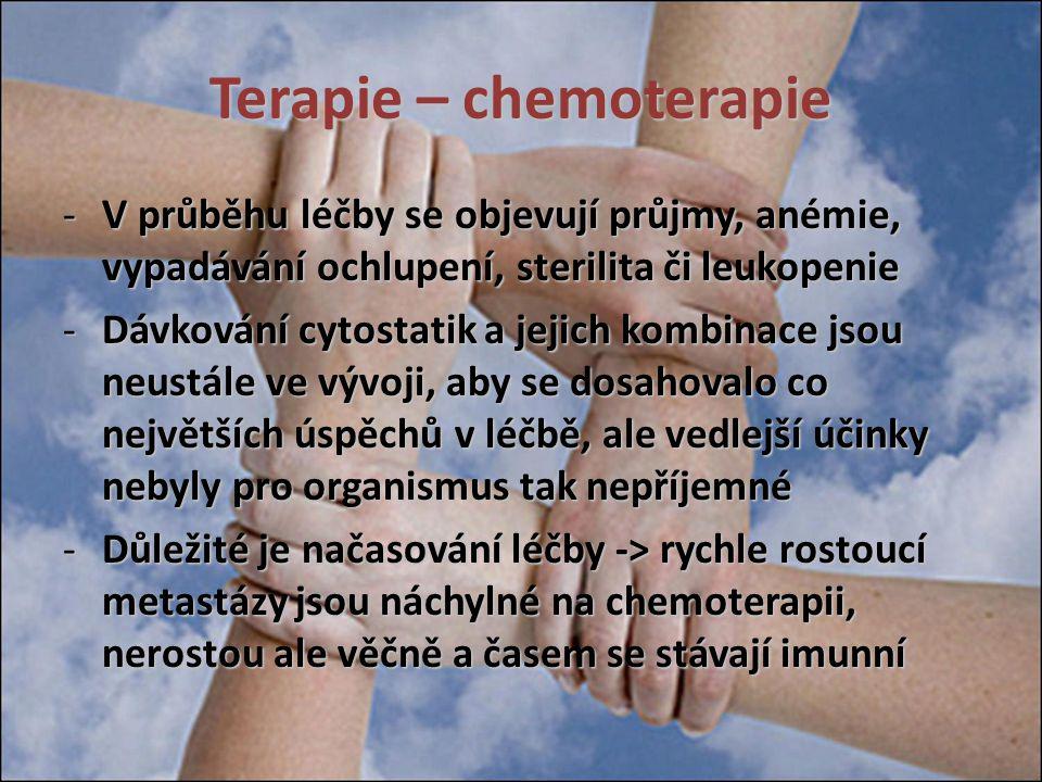 Terapie – chemoterapie