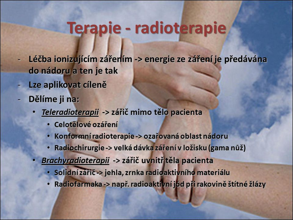 Terapie - radioterapie