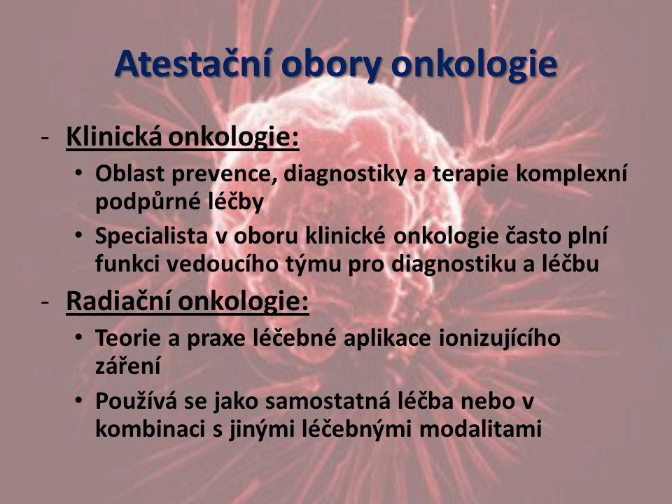 Atestační obory onkologie