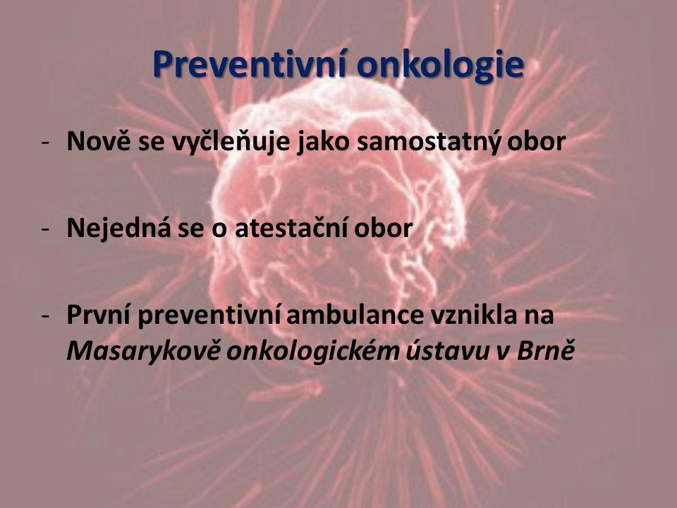 Preventivní onkologie