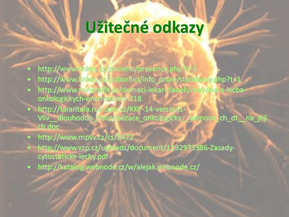 Užitečné odkazy http://www.linkos.cz/pacienti/prevence.php t=3