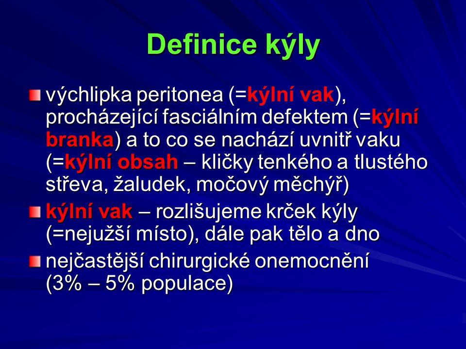 Definice kýly