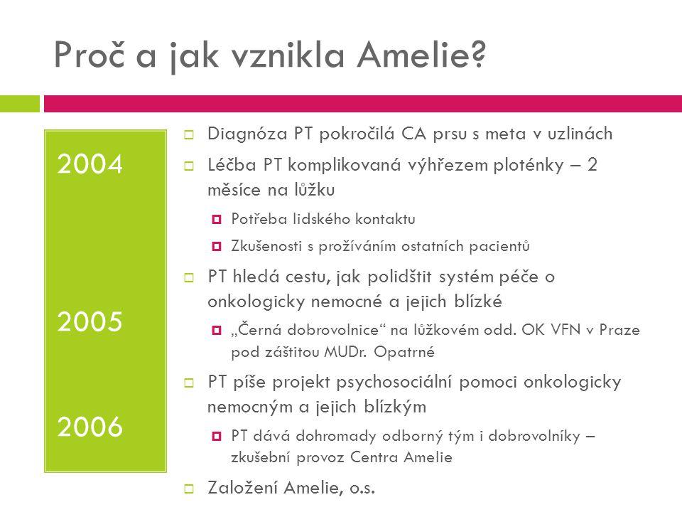 Proč a jak vznikla Amelie