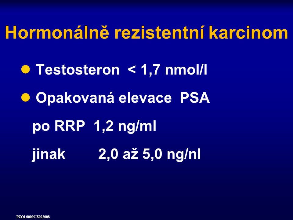 Hormonálně rezistentní karcinom