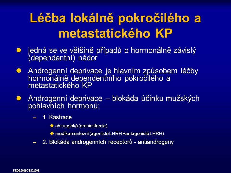 Léčba lokálně pokročilého a metastatického KP