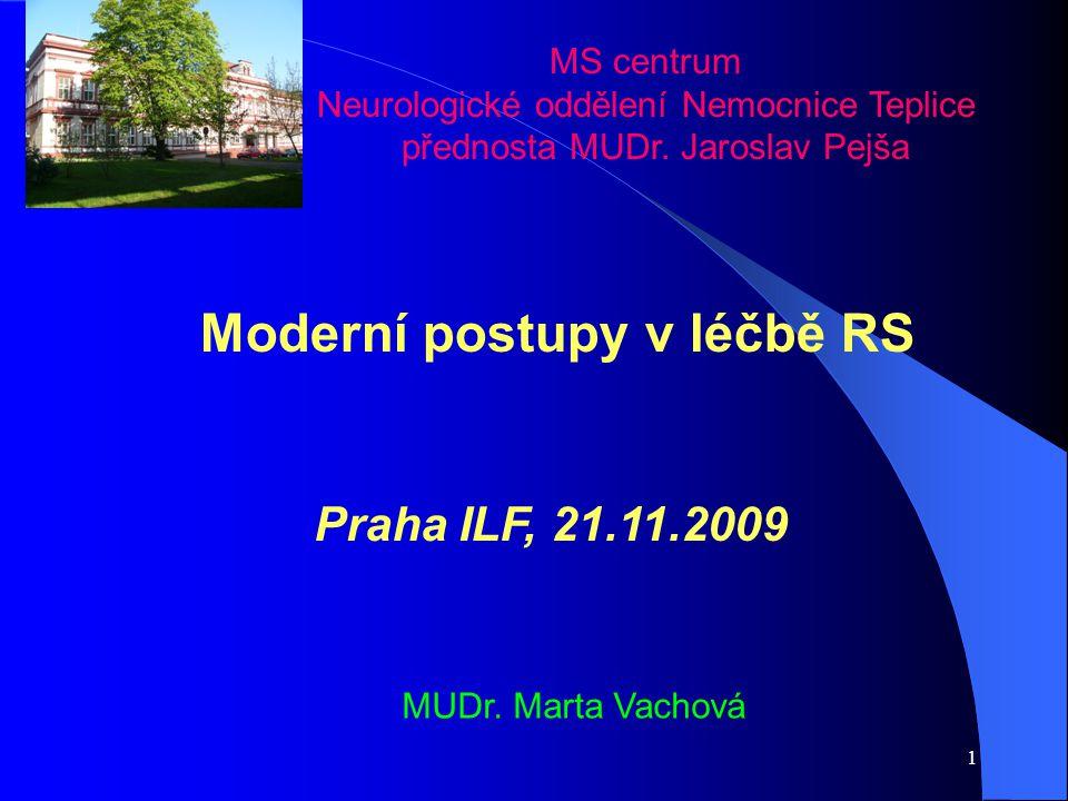 Moderní postupy v léčbě RS